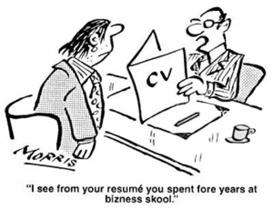 writing a resume 6 things you must check jobspeaker